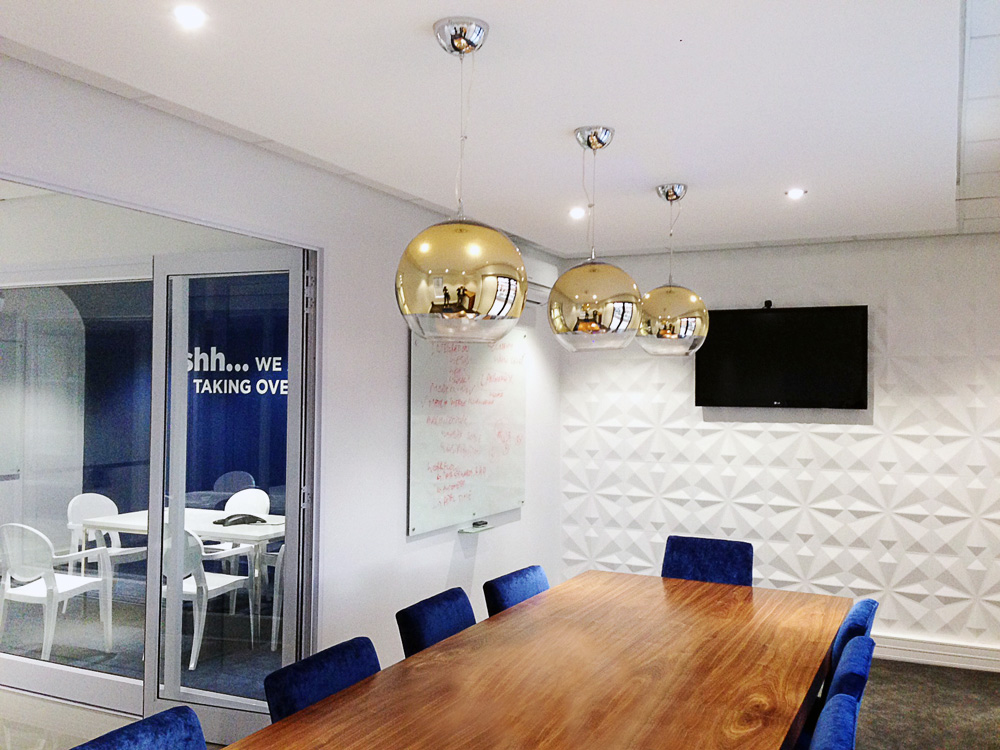 Pbt group office interior design decor for Outer space design group pty ltd