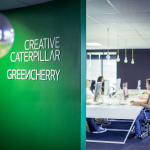 Greencherry & Creative Caterpillar open plan office