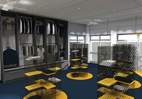NELSON MANDELA UNIVERSITY UNIVERSITY SHOP Greencherry interior